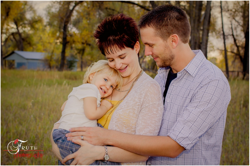 Denver family portrait, fun family photo