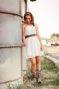 Senior girl in Broomfield Colorado